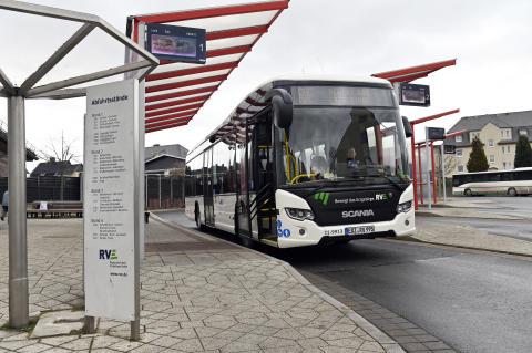 Scania Citywide mit Hybridantrieb