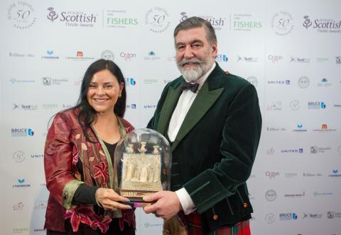 Outlander author receives top tourism award