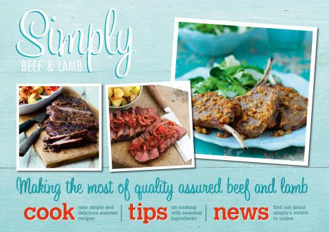 Simply Beef & Lamb Recipe Book