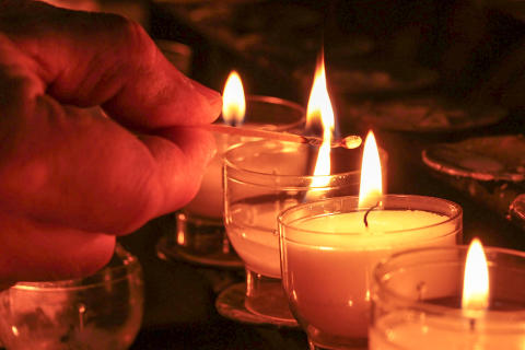 Trauer um Opfer in Münster