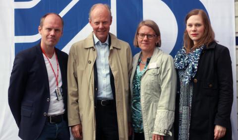 Projektinvigning av 248 st studentlägenheter i Huvudsta, Solna
