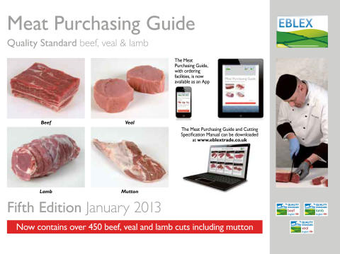 EBLEX Meat Purchasing Guide - Fifth Edition