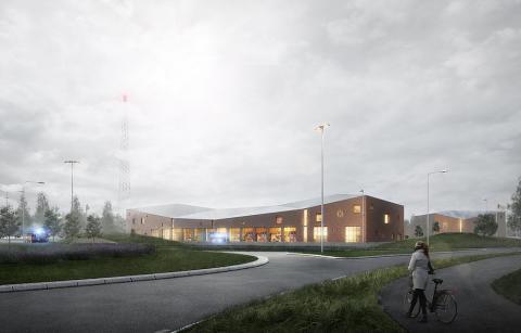 Trygg värme med Malmberg geoenergi till Trygghetens hus i Trelleborg
