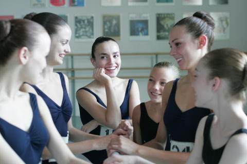 Ballet Girls Chatting