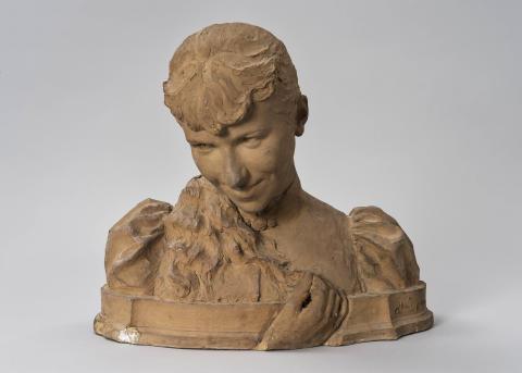 Nyförvärv: Ett skulpterat porträtt av Ida Matton
