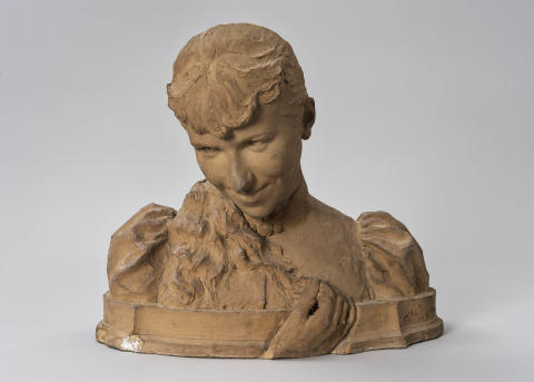New acquisition: Sculpted portrait by Ida Matton