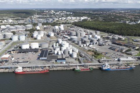 EU-miljoner till LNG-terminal i Göteborgs Hamn