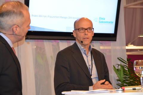 Anders Wikman på GKN Aerospace samarbetar gärna med fler svenska underleverantörer.