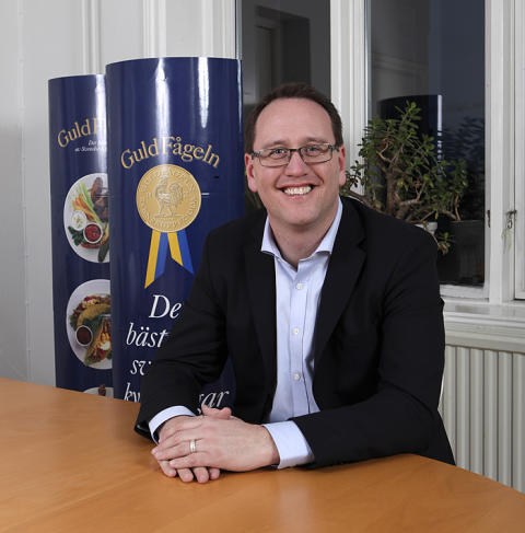 Martin Lindström ny VD på Guldfågeln AB