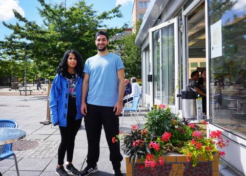 Café, studsmatta och ogräs skapar 120 jobb i Hjällbo