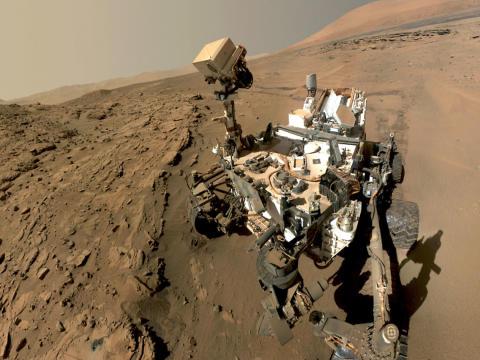 Forskare har hittat fast kväve på Mars