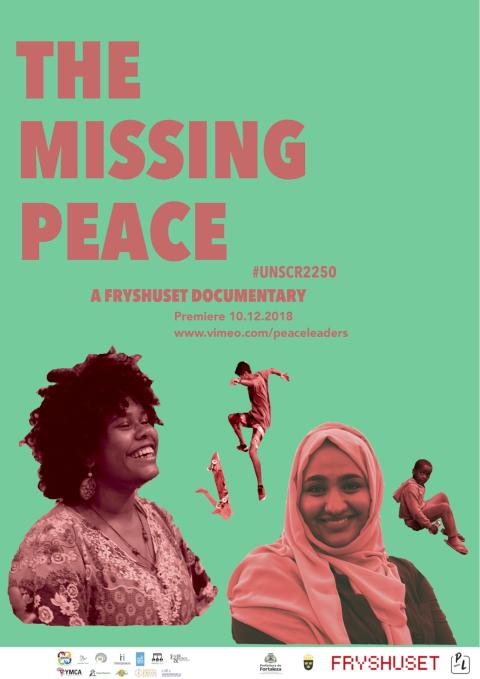 Pressinbjudan: Ny dokumentärfilm om unga fredsskapare