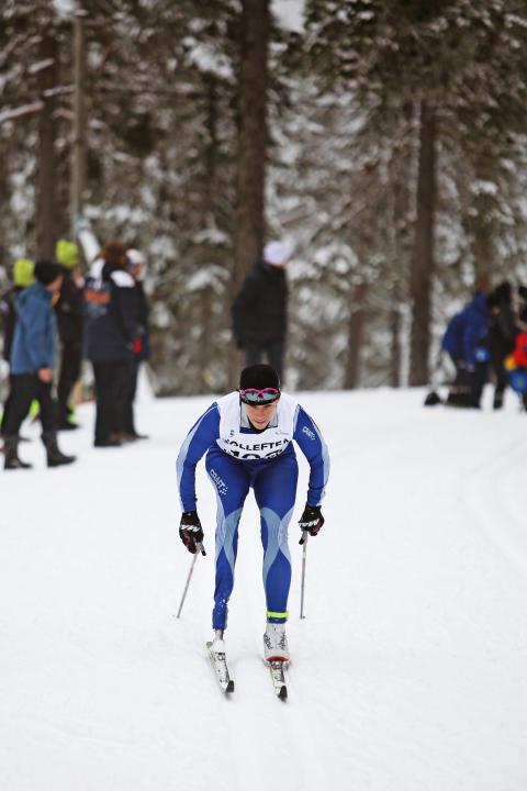 Helene Ripa i jakt på bronset under IPC VM i Sollefteå