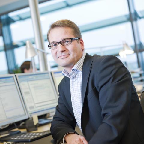 Olieanalytiker Peter Rasmussen