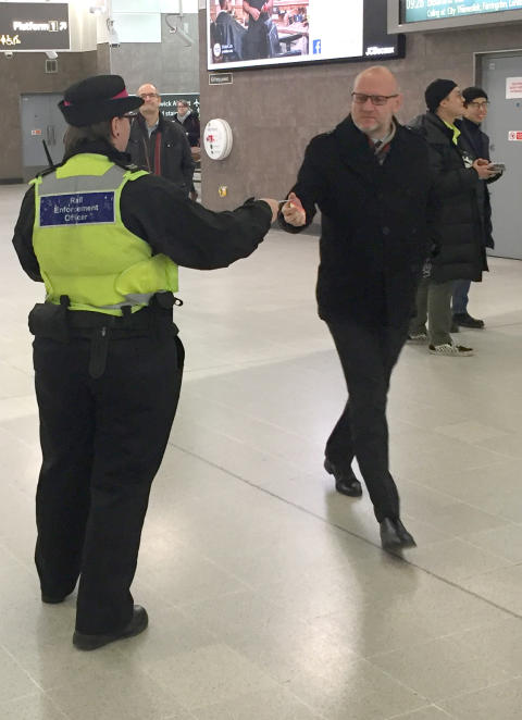 180130 Blackfriars security event