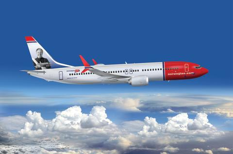 ​Sir Freddie Laker announced as Norwegian's latest British tail fin hero