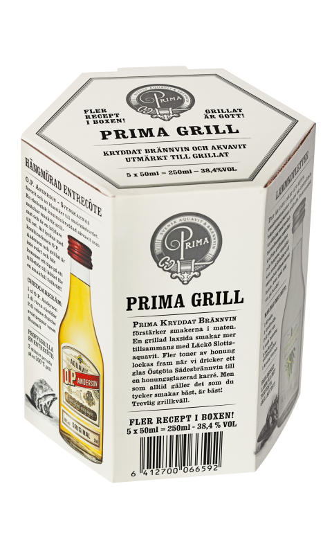 PRIMA Grill pack shot