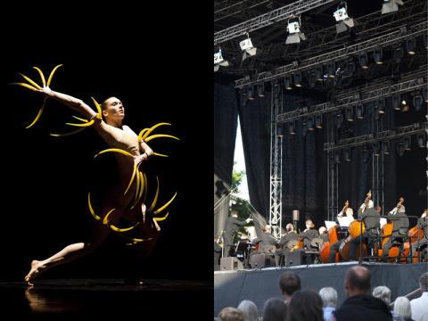 GöteborgsOperan bjuder på sommarkonserter och dans under bar himmel