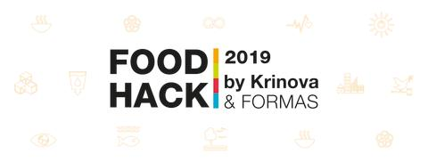 Krinova organises Food Hack 2019 with the Swedish research council Formas