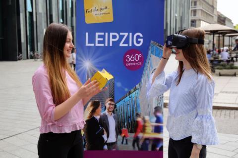 Maja Machinek und Laura Sewing haben den Durchblick - Virtual Site Inspection, die 360°C Expirience