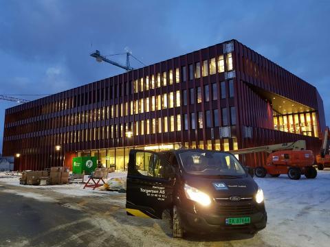 VB Rørlegger Torgersen har utført rørleggerarbeidet på nye Sandnes Rådhus