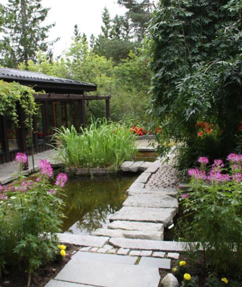 Sveriges trädgårdar – viktiga för folkhälsan