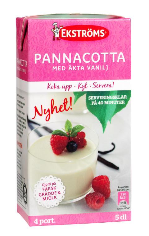 Ekströms Pannacotta