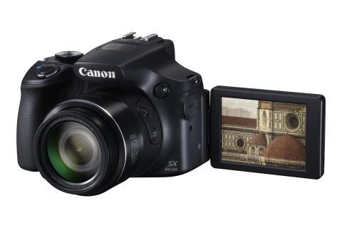 Canon PowerShot SX60 HS skärm