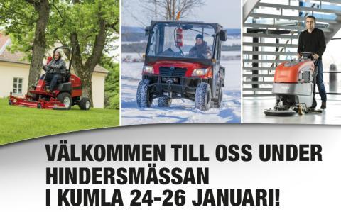 Hindersmässan 24-26 januari i Kumla!