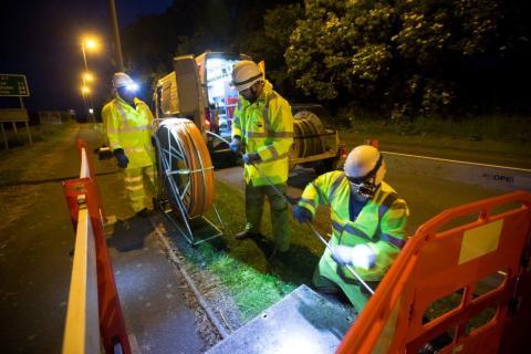 Digital Scotland Superfast Broadband celebrates fibre broadband availability across Falkirk