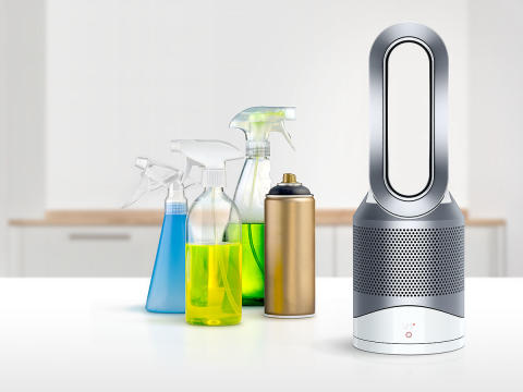Dyson Pure hot+cool Link_Schadstoffe