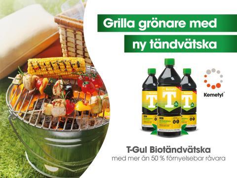T-Gul Biotändvätska grill