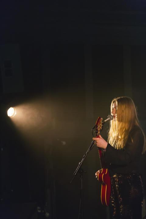 Fanny Lundmark på Berättarfestivalen
