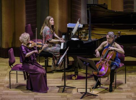 Kammarmusik Äntligen måndag med Trio Nova
