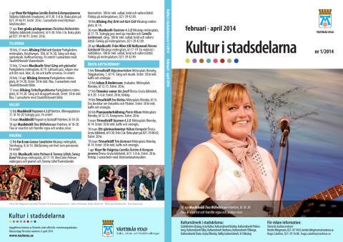 Kultur i stadsdelarna nr 1 2014