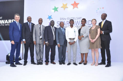 East Africa continues on a record breaking streak at the 7th edition of DStv Eutelsat Star Awards!