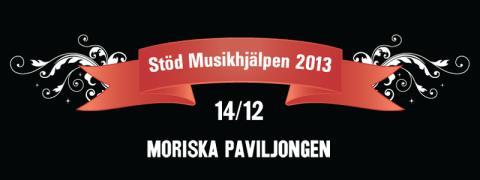 Moriska Paviljongen för Musikhjälpen 14/12