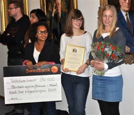 Röda Korsets Ungdomsförbund prisas för sitt integrationsarbete
