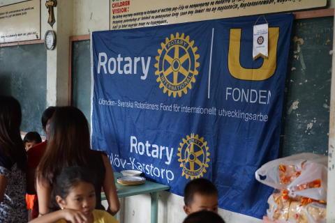 Pressinbjudan: Skånsk välgörenhetsorganisation får ytterligare 50 000 kronor av Rotary
