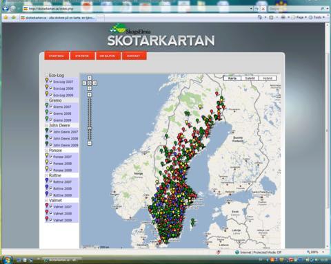 Var hamnar skotarna? Skotarkartan.se - unik webbkarta från Elmia