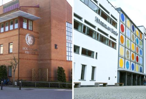 Högskolan i Skövde och Högskolan i Borås