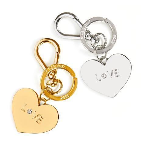 Accessoar till väskan / Nyckelring - Hjärta