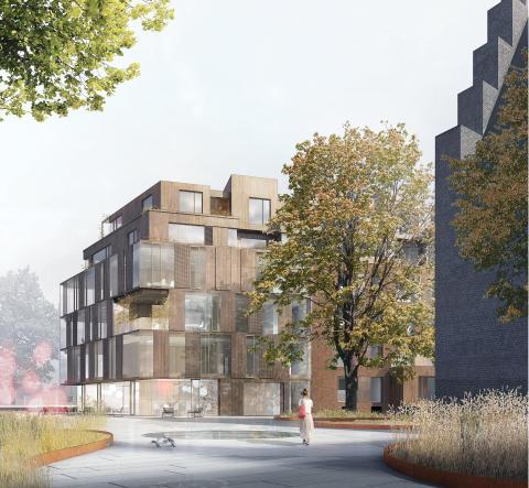 Nu skal Søster Sophies Minde energirenoveres og ombygges /Arkitema vinder parallelopdrag i team med Rambøll