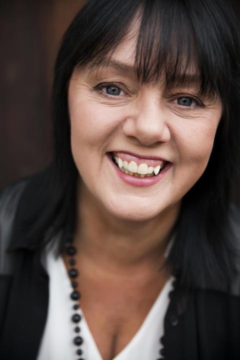 Åsa Jinder till Lidköping på Sveriges Nationaldag