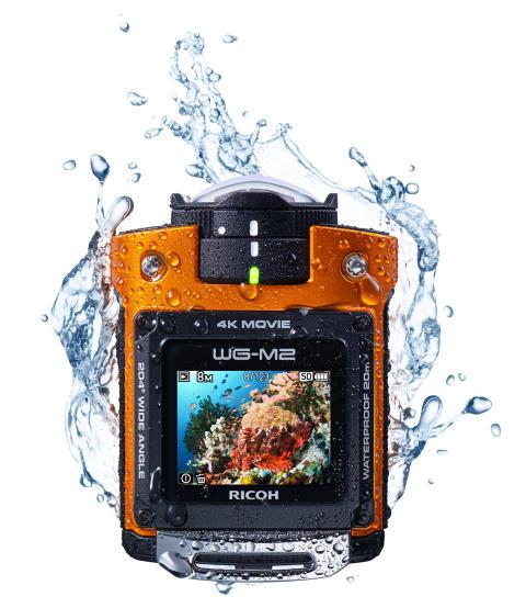 Ricoh WG-M2 Orange - Kuva 4