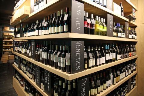 Insgesamt verfügt die Weinhandlung Château9 über mehr als 350 verschiedene Weine