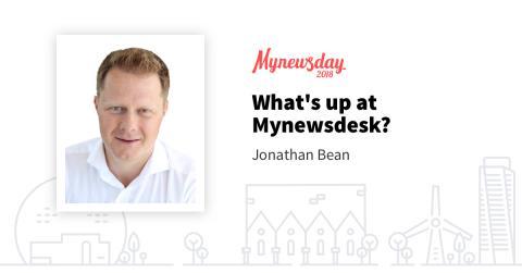 Mynewsday 2018 - What's up at Mynewsdesk?