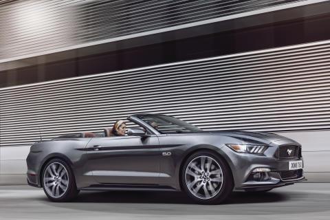 Nye Ford Mustang lanseres for første gang i Europa i 2015.