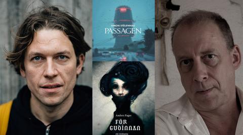 Mörka visioner: en kväll med Anders Fager och Simon Stålenhag