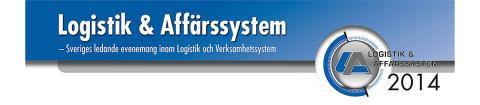 Besök oss på Logistik & Affärssystem